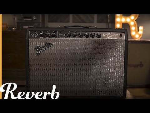 Fender '65 Deluxe Reverb Amplifier | Reverb Demo Video