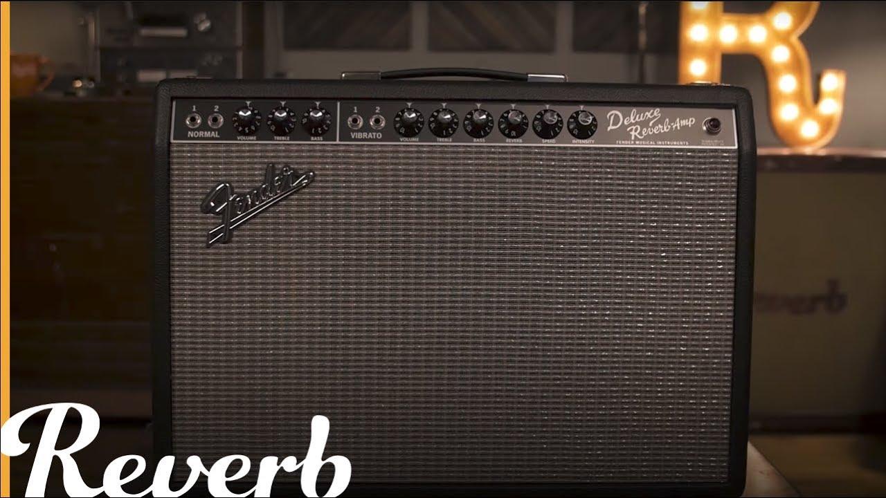Fender '65 Deluxe Reverb Amplifier   Reverb Demo Video