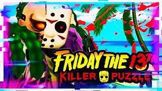 ПЯТНИЦА 13 ДЖЕЙСОН ОТДЫХАЕТ НА ПЛЯЖЕ Friday the 13th Killer Puzzle ПРОХОЖДЕНИЕ НА РУССКОМ 5
