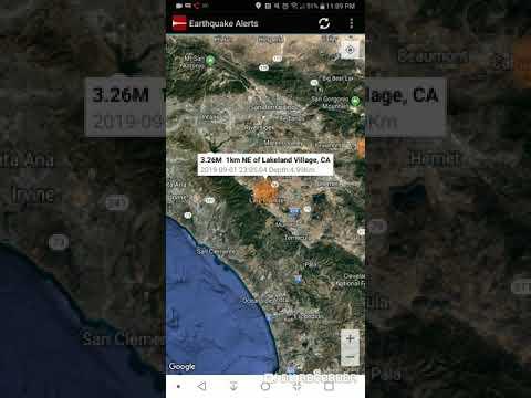 Lakeland Village, California Earthquake September 1st, 2019