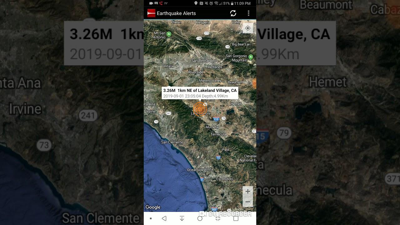 Magnitude 4 Earthquake Jolts Area Near Wildomar, Murrieta; No Reports Of Damage
