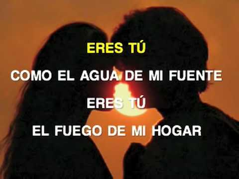 """""""Eres Tú"""" by Mocedades [graphical lyric video]"""