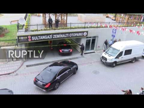 Turkey: Police inspect garage where Saudi consular vehicle found during Khashoggi case
