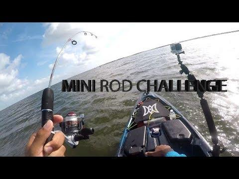 Kayak fishing w dock demon deluxe mini pole fishing for Dock demon fishing rod