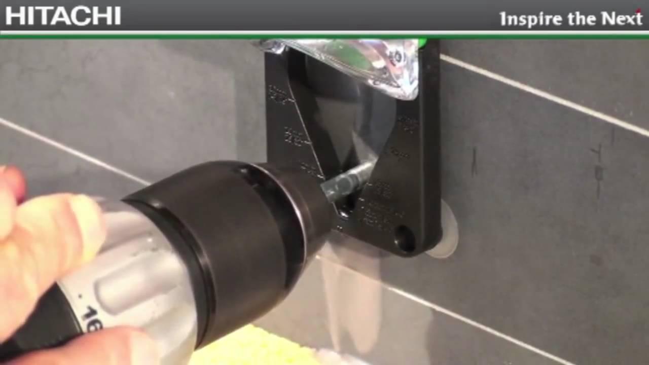 Tegel Gatenzaag Gamma : Hitachi diamant tegelboor youtube