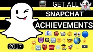 SNAPCHAT HOW TO GET ALL TROPHIES 2018