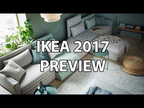 IKEA 2017 Catalog Preview - My Favorite New Products (Sofabed, Standing Desk, Tabletop)