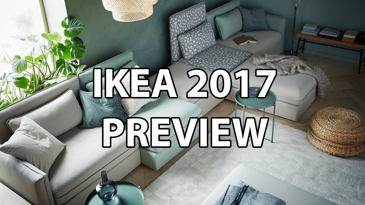 ikea 2017 catalog preview my favorite new products sofabed standing desk tabletop youtube. Black Bedroom Furniture Sets. Home Design Ideas