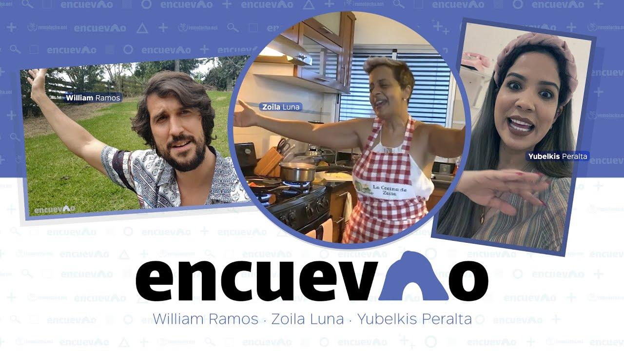 Como Zoila Luna, William Ramos y Yubelkis Peralta resuelven desde casa. Episodio #1