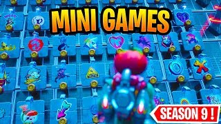 Best Mini Games in Fortnite Season 9 WITH CODES!
