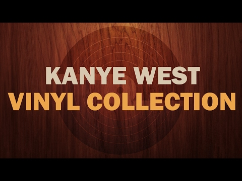 Kanye West Vinyl Collection (Discography and Rarities)