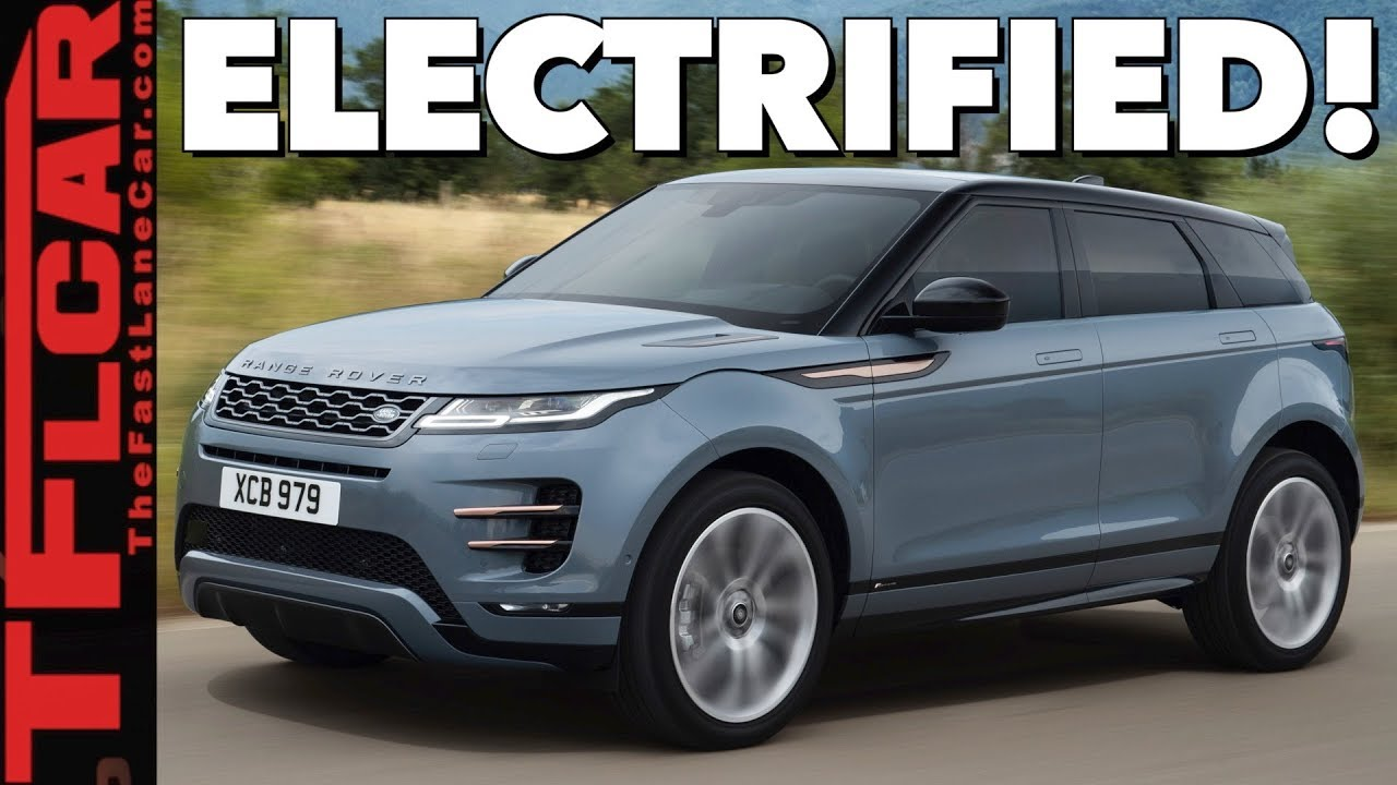 2020 Range Rover Evoque Here S Everything You Need To Know Youtube