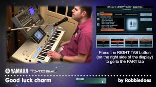 Tyros 4 (VH2): Good luck charm - Elvis Presley (Vocal Harmony 2)