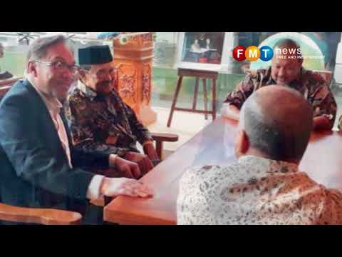 Anwar jumpa bekas presiden Indonesia BJ Habibie di Jakarta