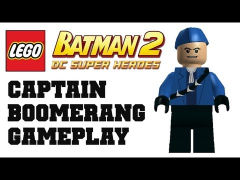 COTV - LEGO Batman 2 Captain Boomerang Gameplay Commentary