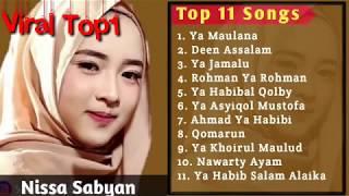 """Download lagu NISSA SABYAN FULL ALBUM 2018 ~ Lagu Sholawat merdu terbaru 2018 """"YA MAULANA"""""""