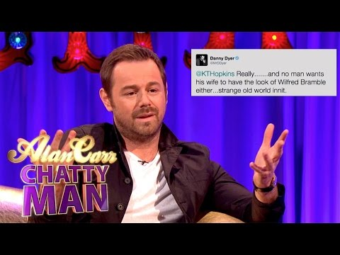 Danny Dyer Tackles Katie Hopkins On Twitter - Alan Carr: Chatty Man