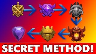 BEST METHOD TO GAIN TROPHY'S & SOME GEMS! NO HACKS OR GLITCHES! | CoC Strategy TH 7, 8, 9 & 10