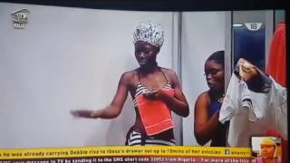 Download Video Big brother naija 2017 shower hour   Tboss, Bisola, Debbie MP3 3GP MP4