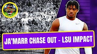 LSU Impact - Ja'Marr Chase Opts Out (Late Kick Cut)