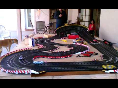 Carrera slot car tracks