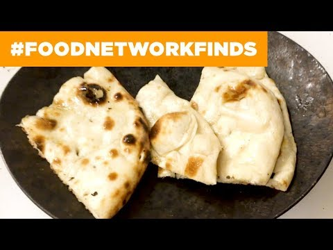 How Authentic Naan is Made in a Tandoor | Food Network