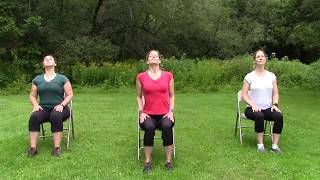 Gentle Chair Yoga   10 min