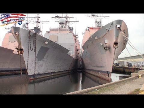 Navi da guerra Courtyard Philadelphia South at The Navy Yard PA Shipyard Marriott ネイビーヤード