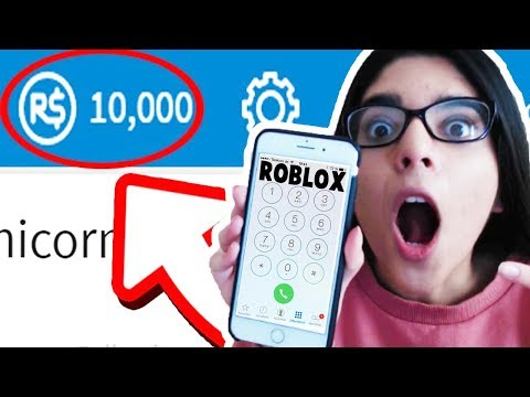 Calling Roblox For Free Robux Youtube