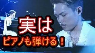 【完璧】三代目J Soul Brothers 今市隆二がピアノを披露!実はピアノが...