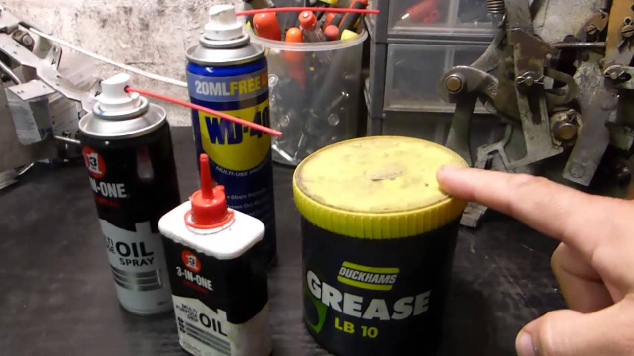 Slot Machine Maintenance Grease Or Oil Youtube