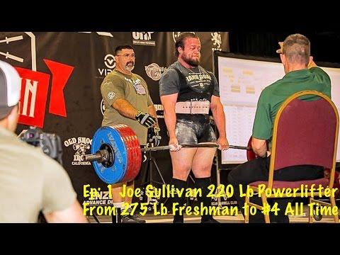 Barbell Commission Ep #1 w/ 220 Lb Powerlifter Joe Sullivan
