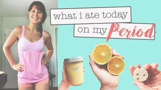 WHAT I ATE TODAY // ON MY PERIOD 👠