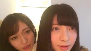 NGT48 山口真帆 & 菅原りこ (NGT48 チームNIII) 20170203