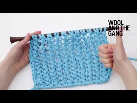 How To Knit Fishnet Stitch