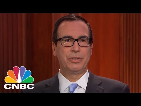 Treasury Secretary Steven Mnuchin Explains Trump's Tweet On Devaluation To China And Russia | CNBC