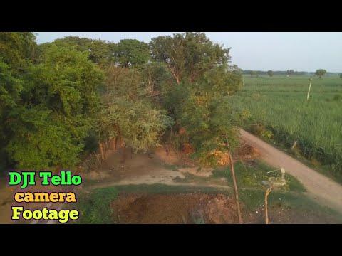 DJI tello Camera Footage.
