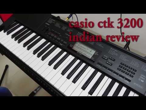 Casio CTK 3200 Indian Review Part-01