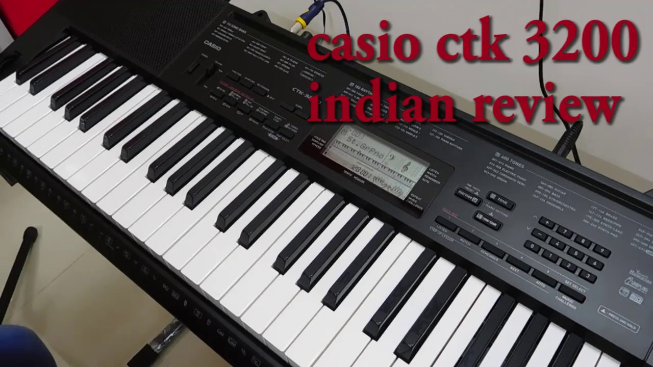 167804ab016 Casio CTK 3200 Indian Review Part-01 - YouTube