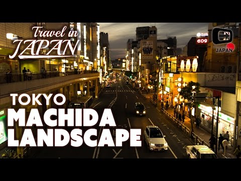 Travel in Japan | Machida Landscape | Border between Tokyo and Kanagawa | 東京・町田