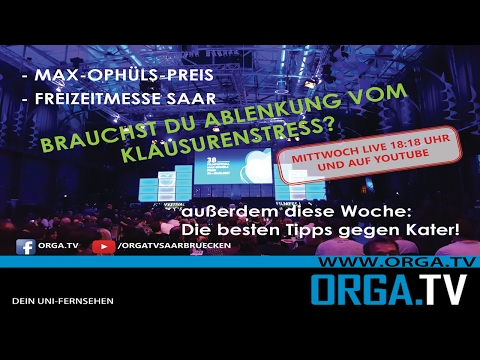 Sendung vom 01.02.2017 - Filmfestival Max Ophüls Preis - Anti Kater Tipps von DER TUSSI