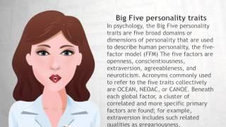 Big Five personality traits - Wiki Videos