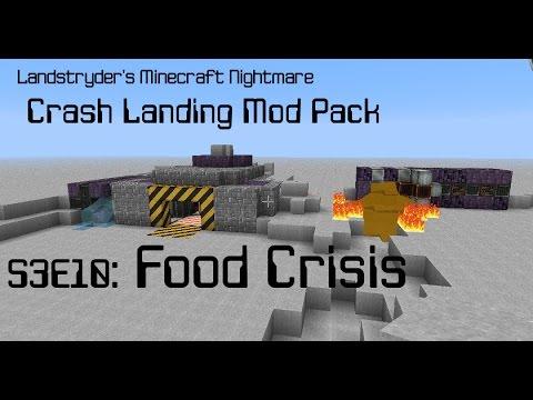 Food Crisis - Crash Landing - Landstryder's Minecraft Nightmare s3e10