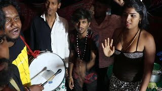 Superb Teenmaar Dance   Dancer Sharath Latest Hyderabad Band   Teenmaar Band   Edupayala Jatara 2021
