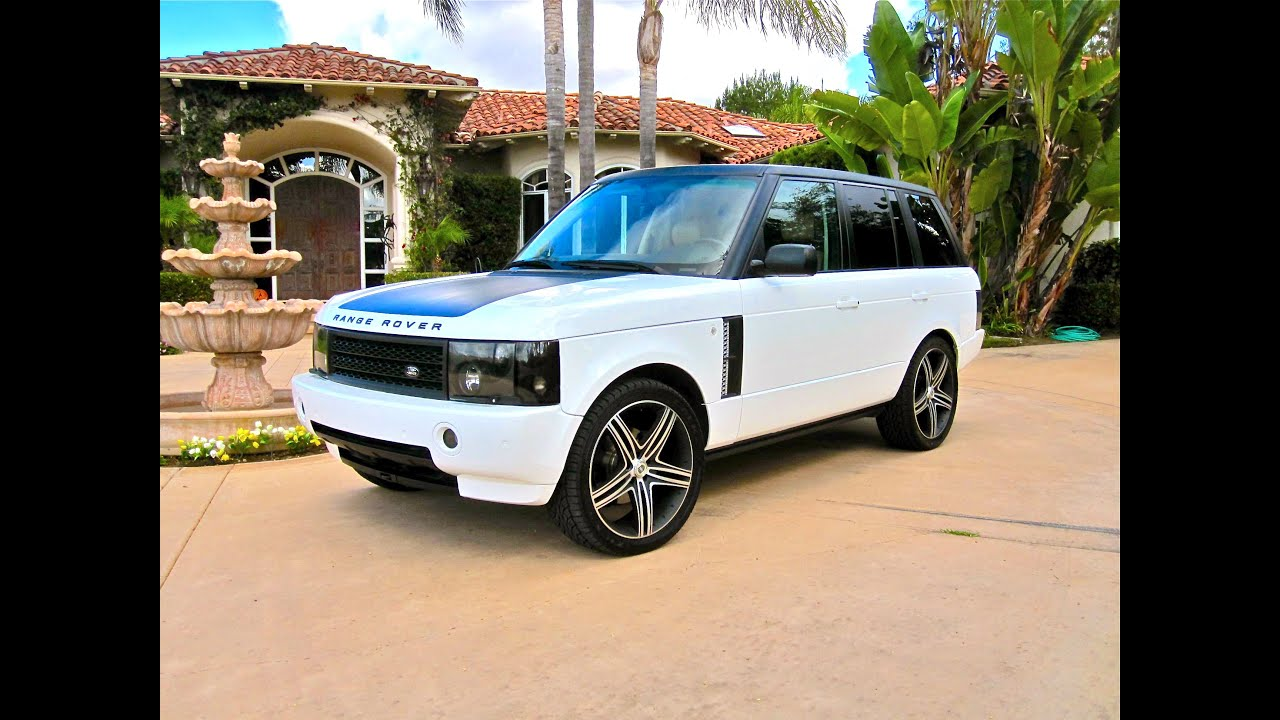 Range Rover Custom HSE Supercharged Autobiography Exhaust