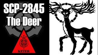 SCP-2845 THE DEER | keter | Extraterrestrial / animal scp