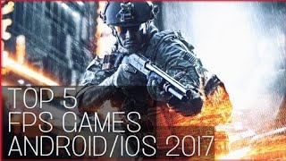 Top 5 Fps Games for Android and IOS