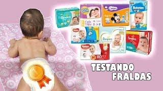 Qual é a melhor fralda descartável para bebês ?