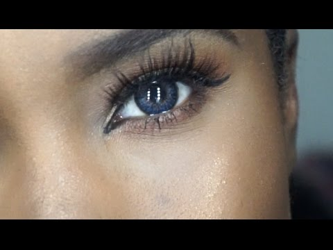 FreshLook one day - Grey coloured contact lenses - YouTube