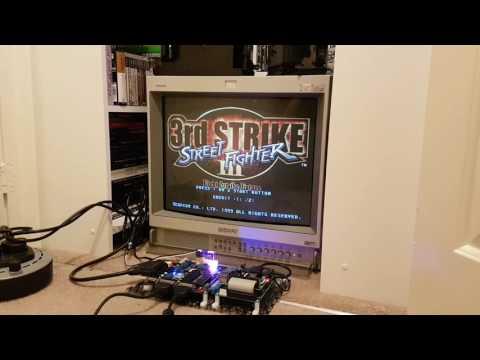 ARpiCADE - Raspberry Pi 3 Arcade Jamma PCB (Final Burn Alpha, Mame, Daphne)